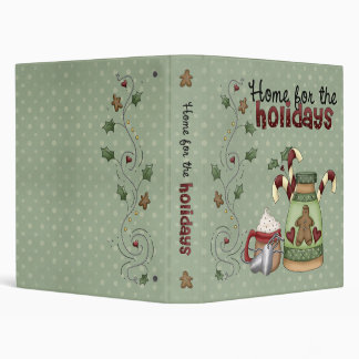 """Military Home for the Holidays 1"""" (Recipe Binder)"""