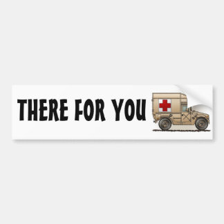 Military Hummer Ambulance Bumper Sticker TFY