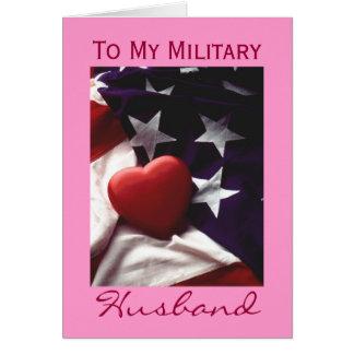 Military Husband Greeting Card