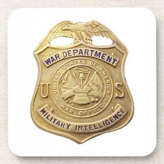 Military Intelligence Coaster