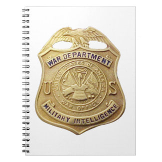 Military Intelligence Spiral Notebook