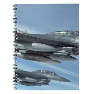military jet notebooks