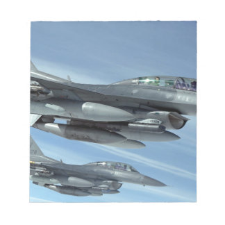 military jet notepad