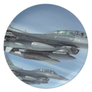 military jet plate