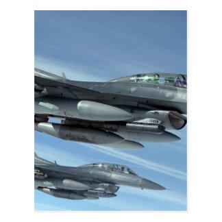 military jet postcard