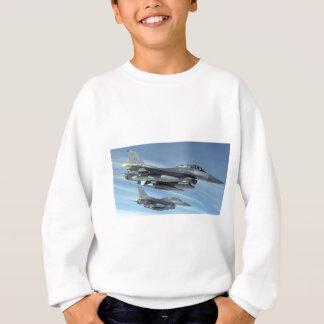 military jet sweatshirt