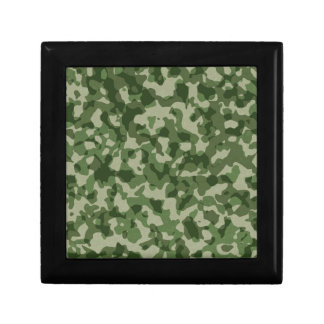 Military Jungle Green Camouflage Gift Box