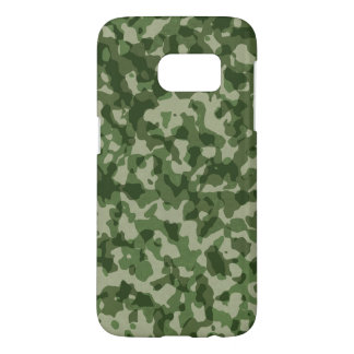 Military Jungle Green Camouflage Samsung Galaxy S7 Case