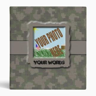 Military Life Album Vinyl Binders