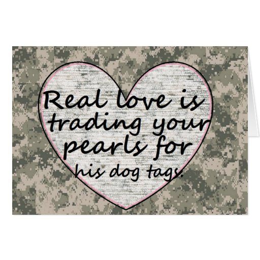 Military Love Greeting Cards