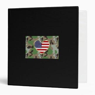 Military Love Vinyl Binder