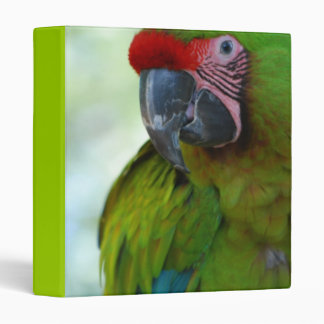 Military Macaw Vinyl Binder