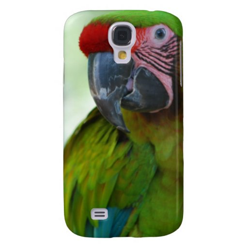 Military Macaw Galaxy S4 Cover