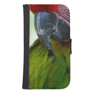 Military Macaw Phone Wallet Cases