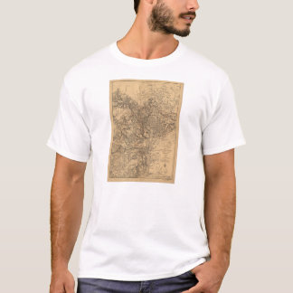 Military Map N.E. Virginia with Forts & Roads 1865 T-Shirt