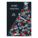 Military Merry Christmas Greeting Card