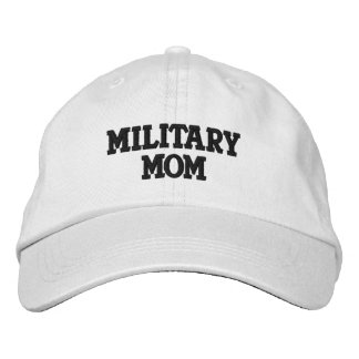 MILITARY MOM EMBROIDERED HAT