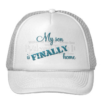 Military Mom-Homecoming hat