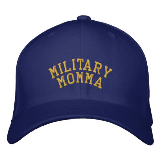 Military Momma and Proud of it! Embroidered Baseball Cap