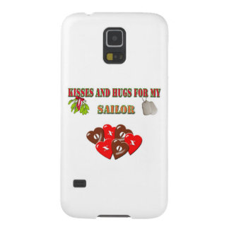 Military Navy Sailor Christmas Galaxy S5 Cases