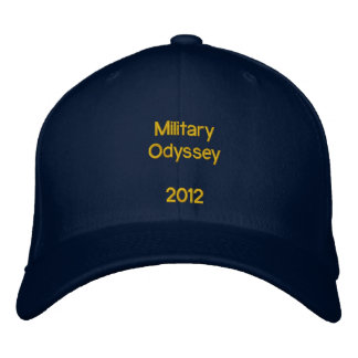 Military Odyssey Cap Embroidered Hats