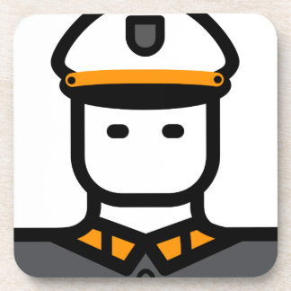 Military Officer Coaster