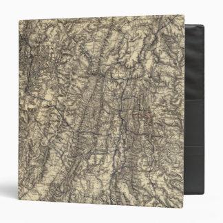 Military Operations of the Atlanta Campaign Vinyl Binder
