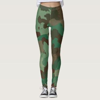 Military Pattern Camo women leggings