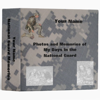 Military Photo Memory album Vinyl Binders