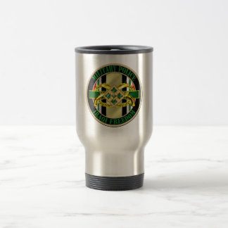 Military Police OIF 4th ID Travel Mug