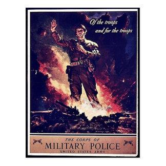 Military Police Postcard