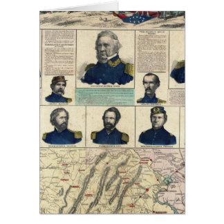 Military Portraits Card