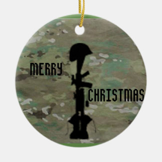 Military Remembrance Ceramic Ornament