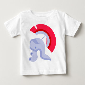 Military Roman Helmet Baby T-Shirt
