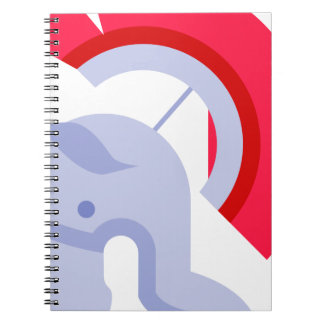 Military Roman Helmet Spiral Notebook