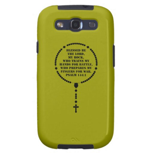 Military Rosary Galaxy SIII Case