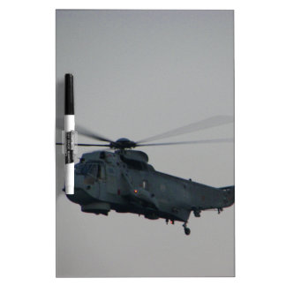 Military Sea King Helicopter Dry-Erase Whiteboards