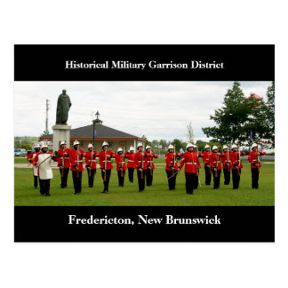 Military Show at Garrison District, Fredericton Postcard