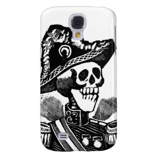Military Skeleton c. early 1900s Mexico Samsung Galaxy S4 Cases