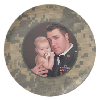 Military Soldier Custom Personalized Photo Plates