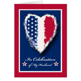 Military Spouse Appreciation Day for Husband Card