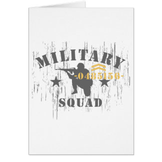 Military Squad Cards