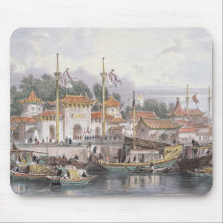 Military Station of the Chinese near the City of C Mouse Pad
