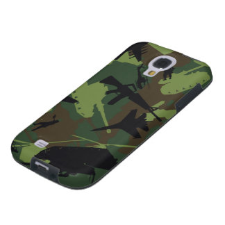 Military Style Camouflage Galaxy S4 Case