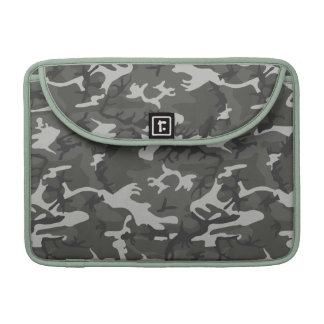 Military Style Gray Urban Camo Sleeve For MacBook Pro