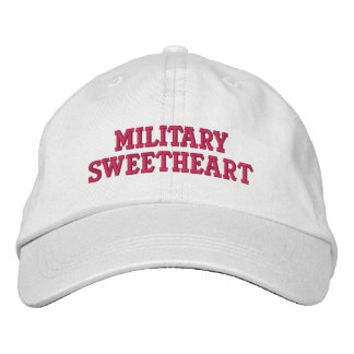 Military Sweetheart Embroidered Baseball Caps