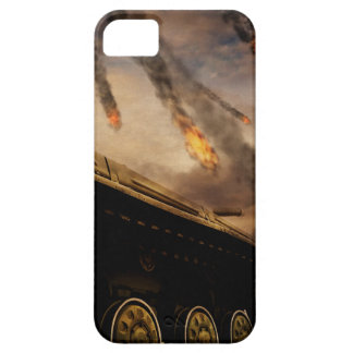 Military Tank on Battlefield iPhone 5 Cover