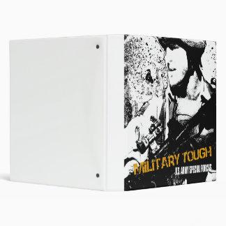 Military Tough Vinyl Binders
