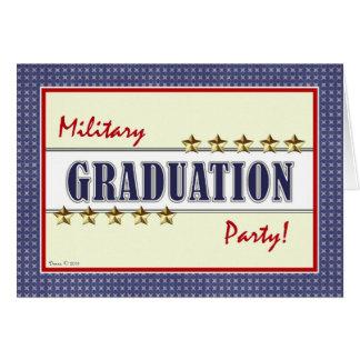 Military Training Graduation Party Invitation Greeting Card