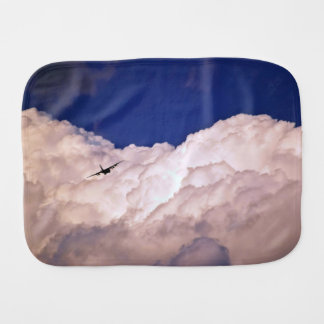 Military Transport Airplane by Shirley Taylor Burp Cloth